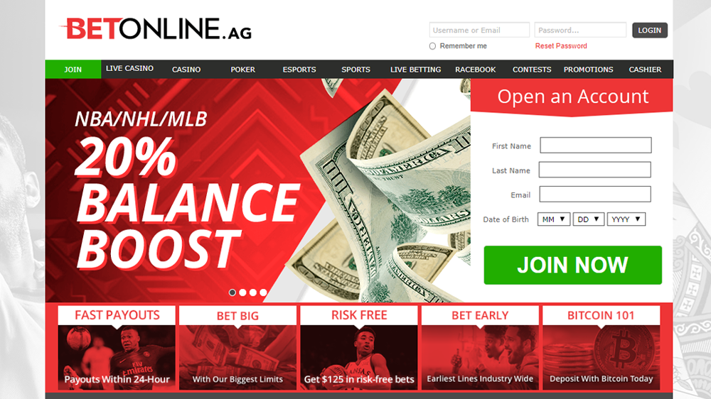 Bet online sportsbook review