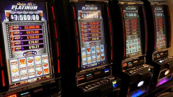 slot machine payback