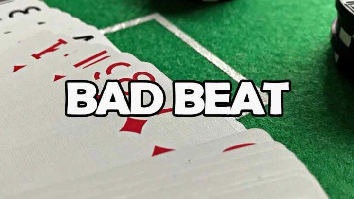 Bad beat blackjack progressive betting championship 13 14 betting online