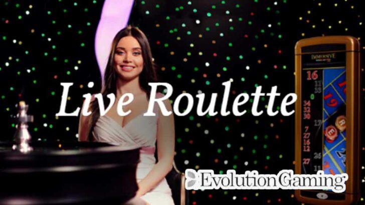 Evolution Gaming live roulette