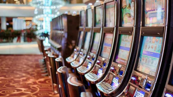 RTP for land-based slot machines