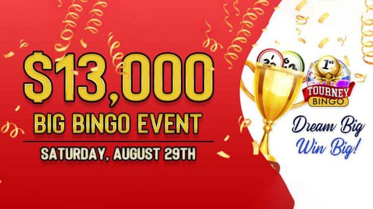 end of summer bingo bonus