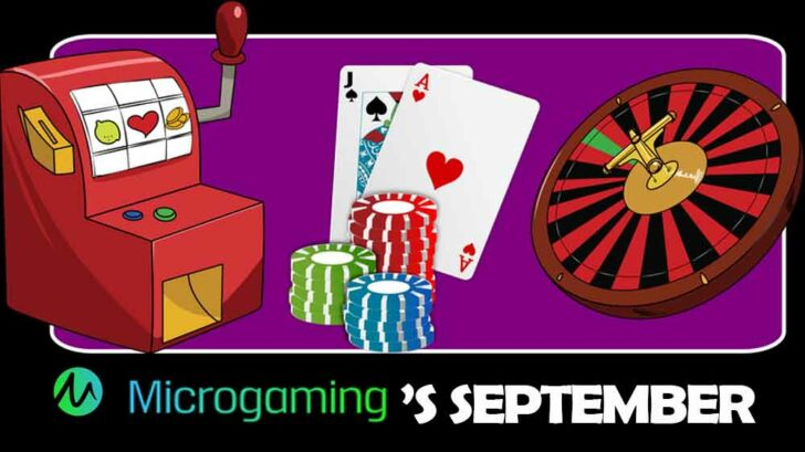 Microgaming's September Jackpot Games