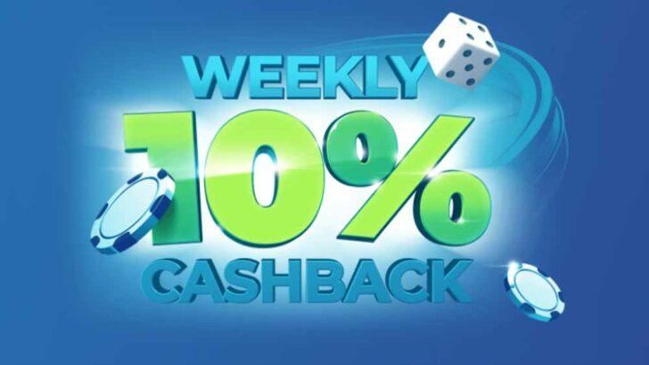Betmaster weekly cashback