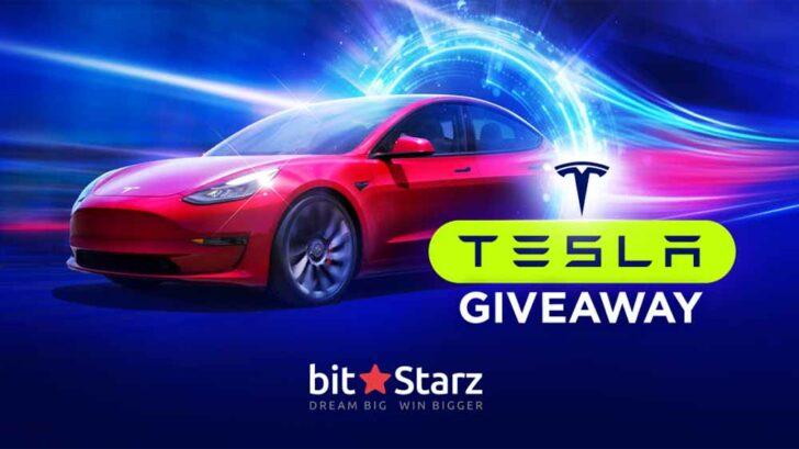BitStarz Casino Tesla Giveaway