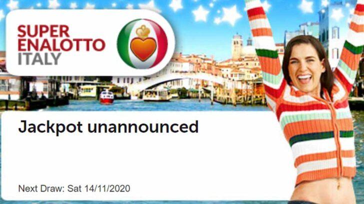 Italian SuperEnalotto tickets