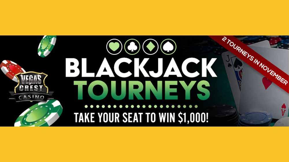 Vegas Crest Casino Blackjack Tournaments: Take Part and Win