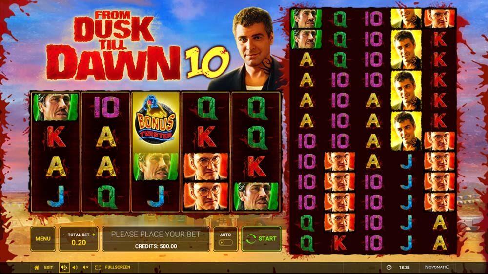 From Dusk Till Dawn 10 jackpot analysis
