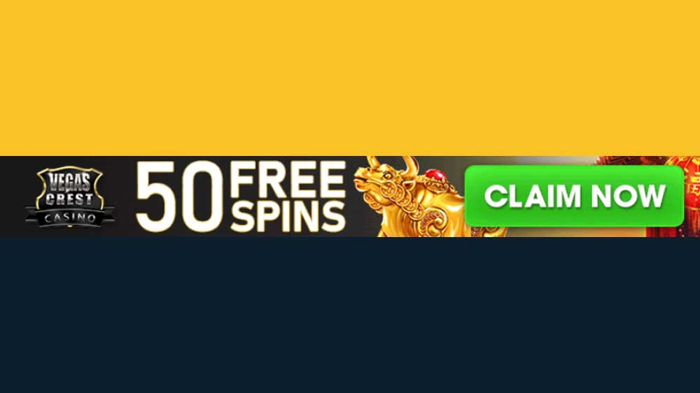 50 Free Spins on Golden Horns