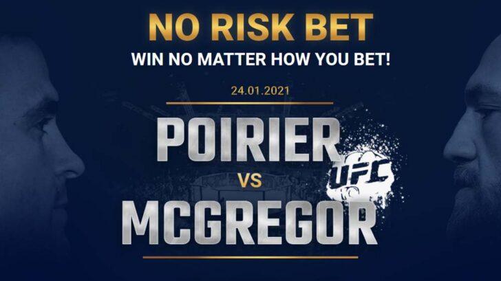 Poirier vs McGregor betting offer