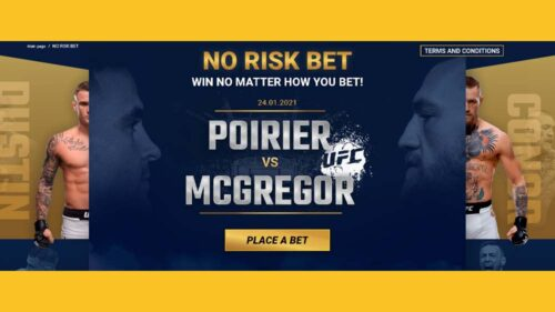 Risk-Free Poirier Vs Mcgregor Betting: Take Part and Win