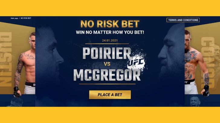 Risk-free Poirier vs McGregor betting