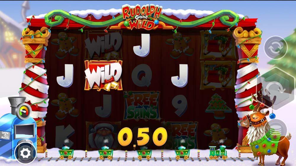 Rudolph Gone Wild jackpot analysis