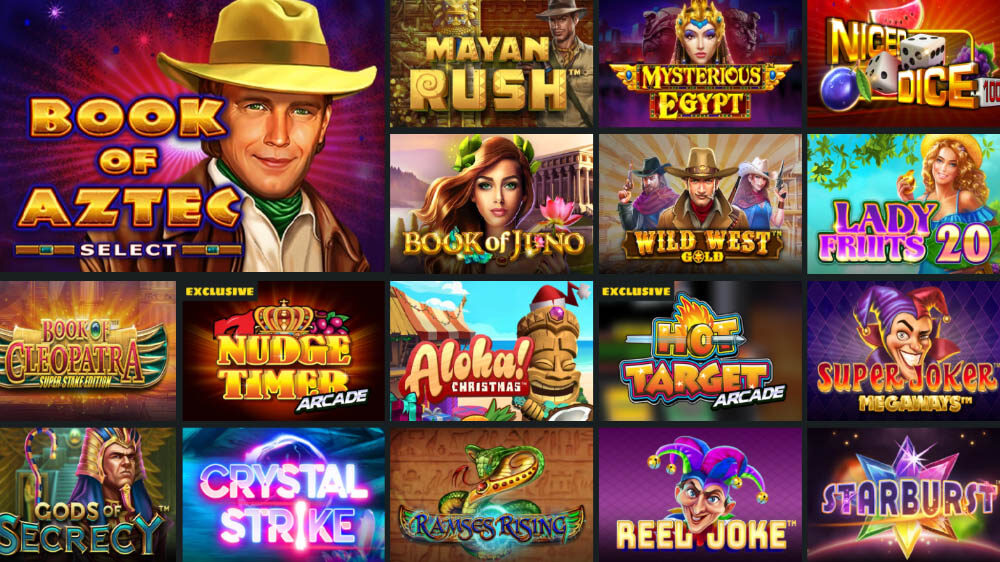 best casino slots, online casino games, Whamoo Casino featured games