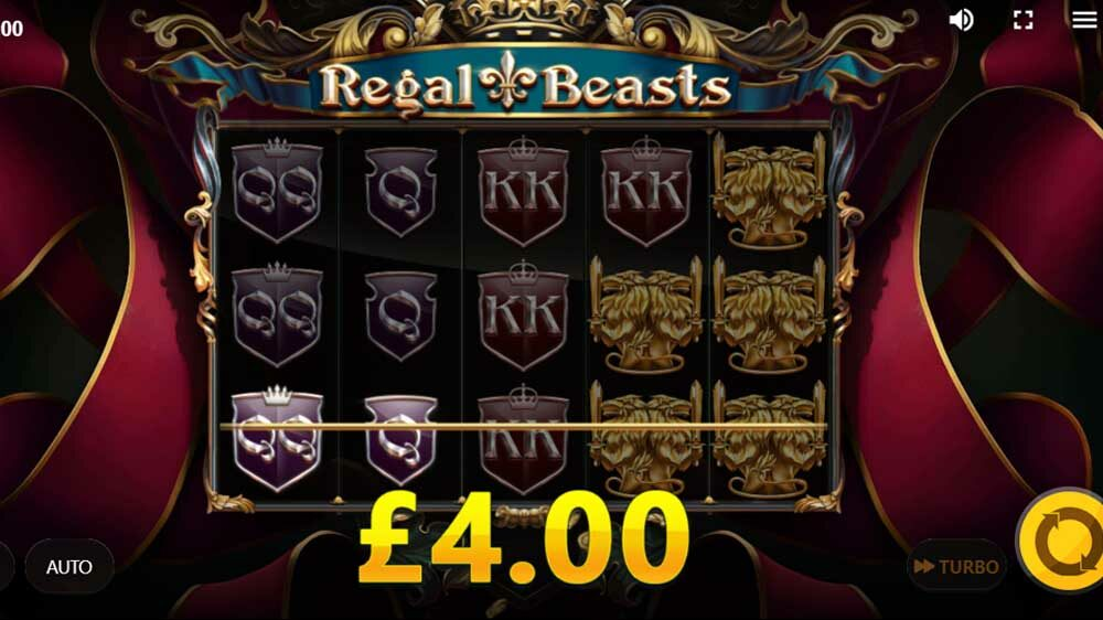 Regal Beasts jackpot analysis