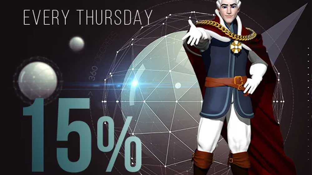 Thursday Cashback Bonus