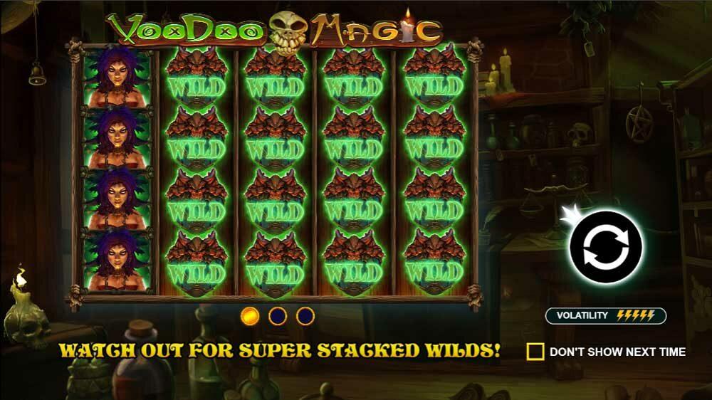 Voodoo Magic jackpot analysis ps1