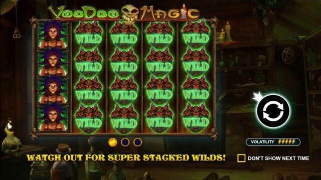 Voodoo Magic  Jackpot Analysis