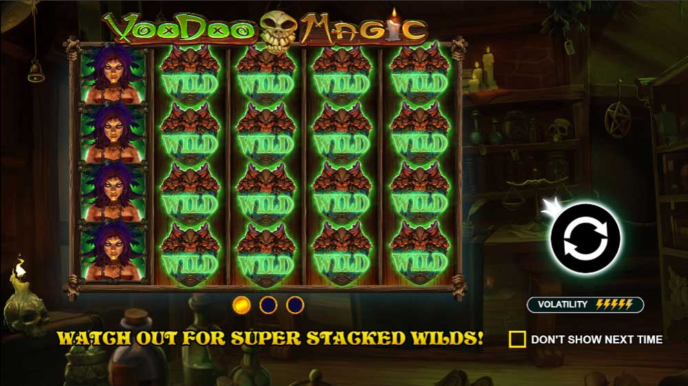 Voodoo Magic jackpot analysis ps1