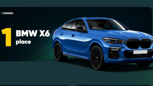 Win a BMW X6 and Other Prizes at 22BET Sportsbook