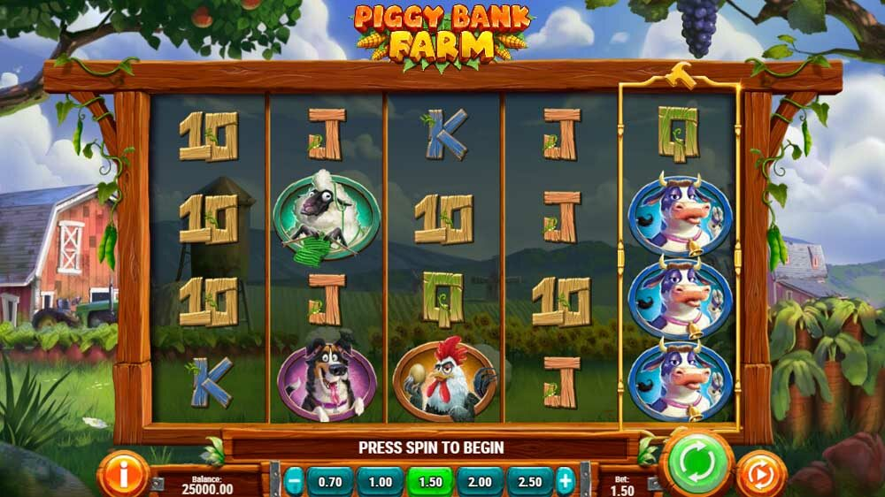 Piggy Bank Farm jackpot analysis