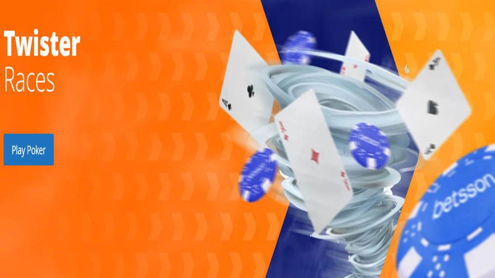 Betsson Poker Twister Promo
