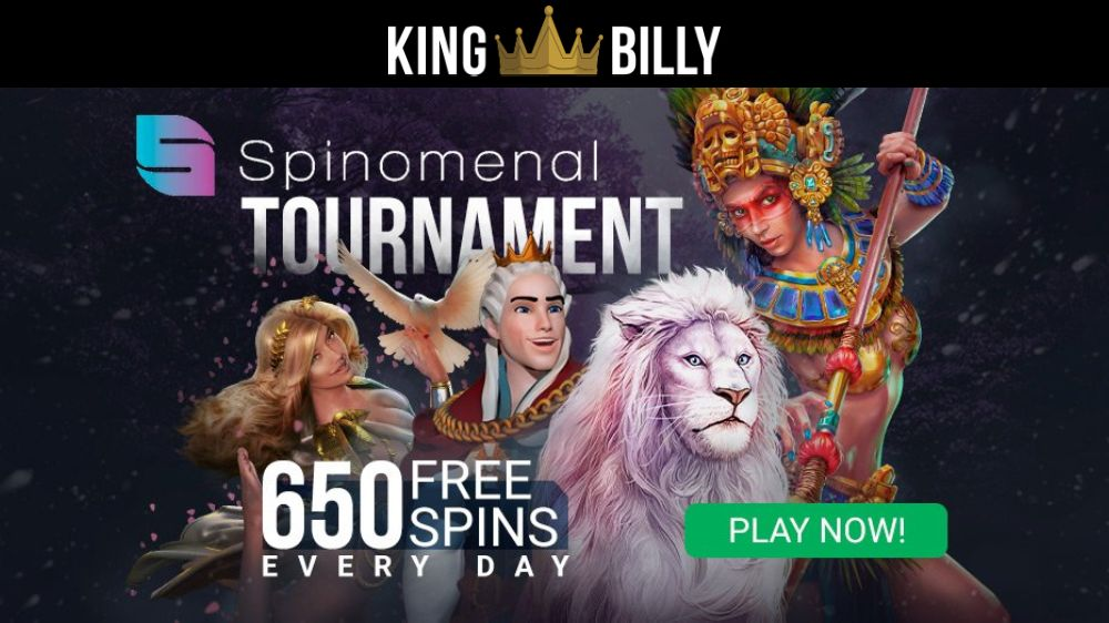 King Billy Casino Daily Tournaments