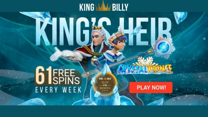 King Billy Casino Monthly Promotions