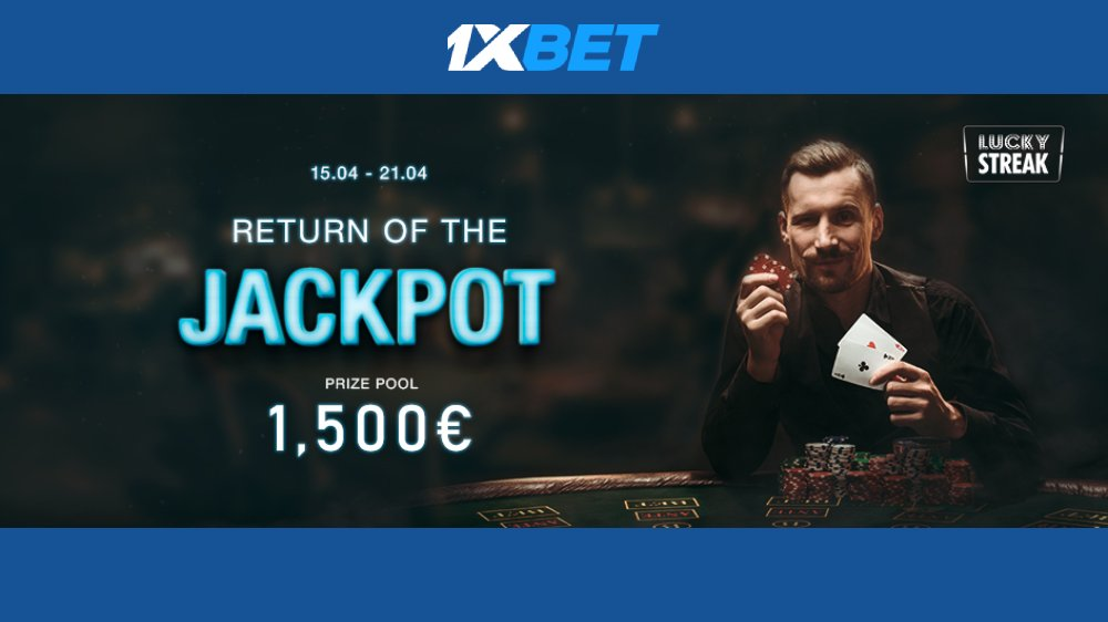 1xbet Casino Jackpot tournament