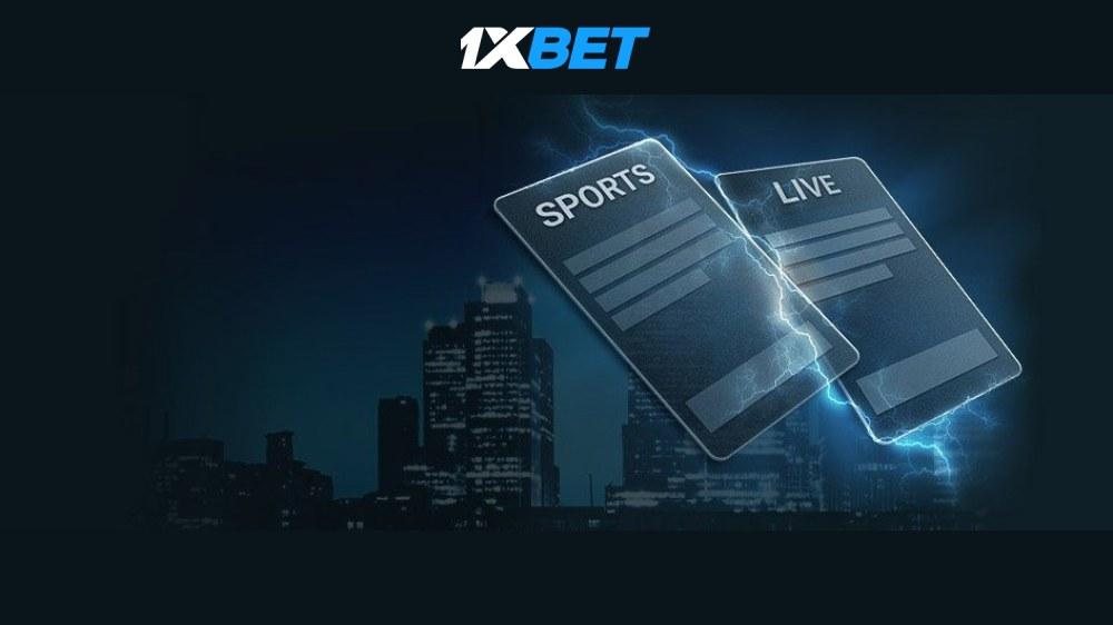 1xBET live betting bonus