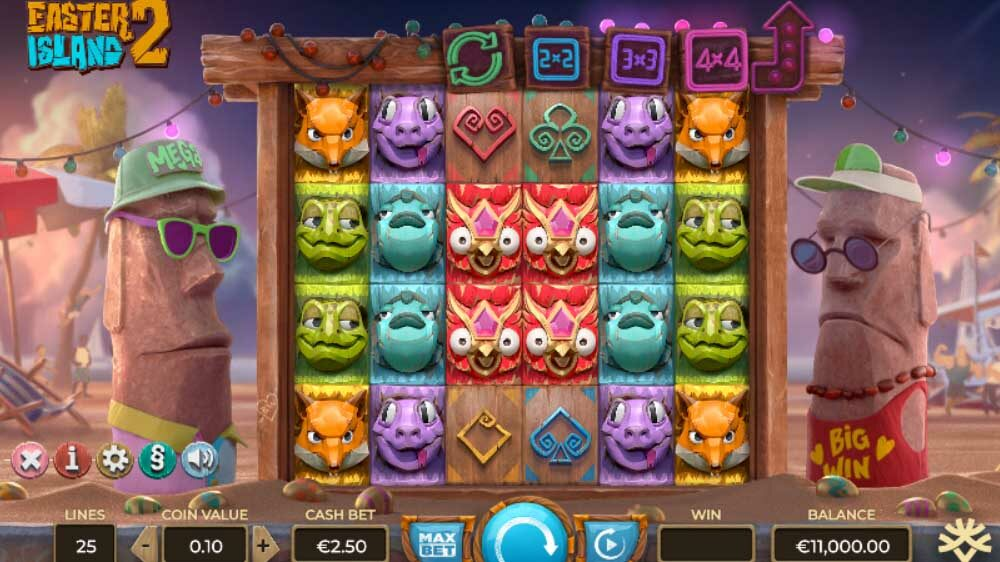 Easter Island 2 Jackpot Analysis
