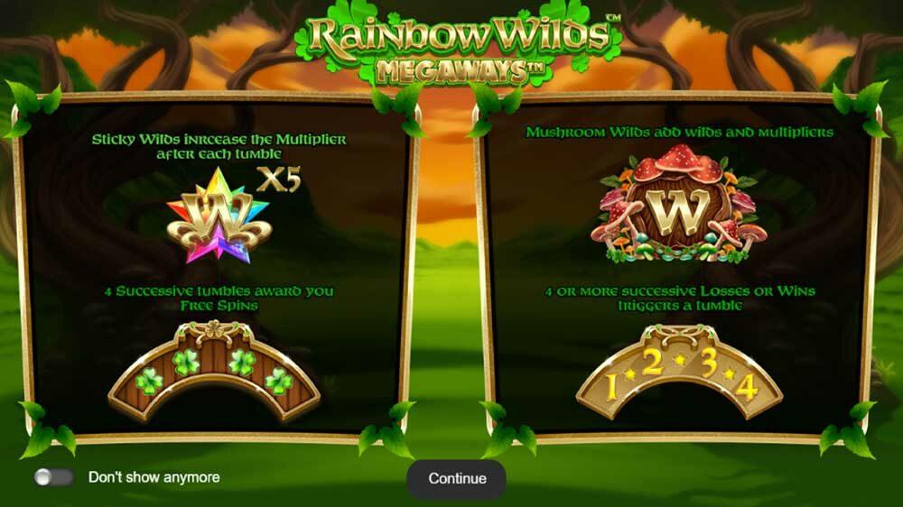 Rainbow Wilds Megaways jackpot analysis