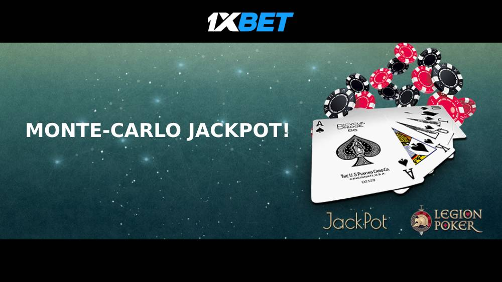 1xBET Casino Monte-Carlo Jackpot